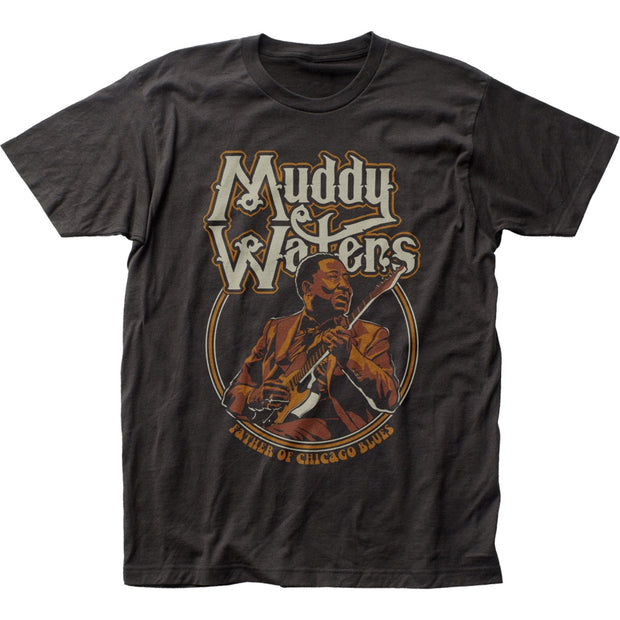 Muddy Waters Father of Chicago Blues T-Shirt | Rockteez Apparel