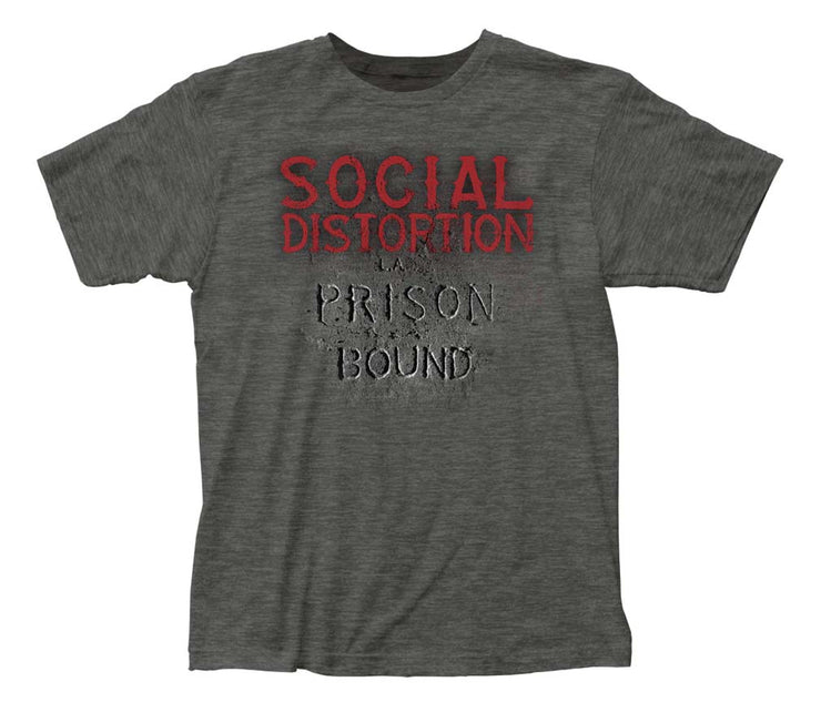 Social Distortion Prison Bound T-Shirt | Rockteez Apparel