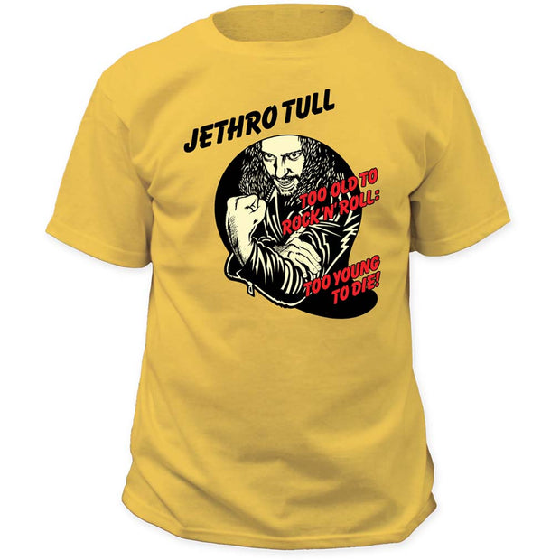 Jethro Tull Too Young To Die T-Shirt - Rockteez Apparel