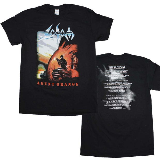 Sodom Agent Orange T-Shirt | Rockteez Apparel