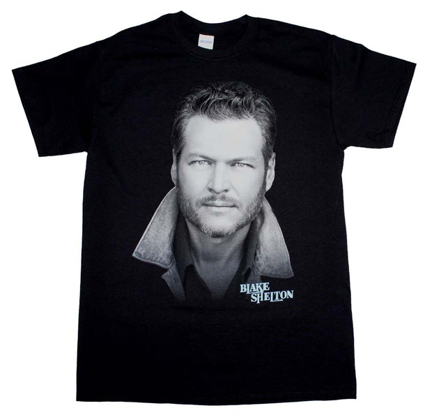 Blake Shelton Portrait T-Shirt - Rockteez Apparel