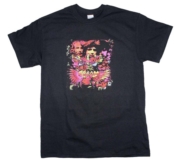 Cream Disraeli Gears T-Shirt - Rockteez Apparel