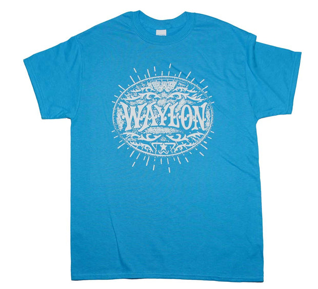 Waylon Jennings Buckle T-Shirt | Rockteez Apparel