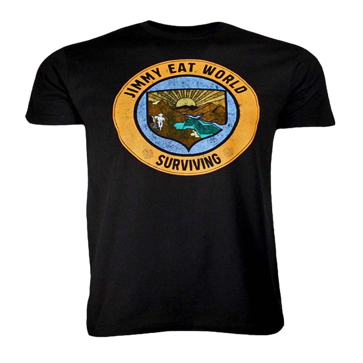 Jimmy Eat World Surviving Crest T-Shirt