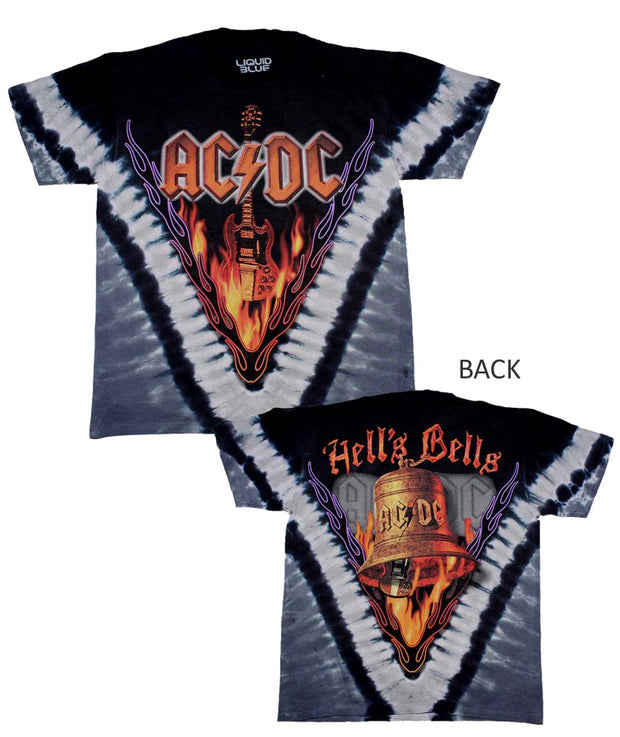 AC/DC Hell's Bells T-Shirt - Rockteez Apparel
