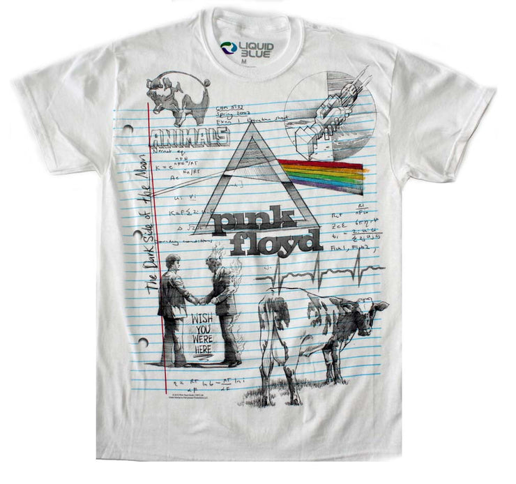 Pink Floyd Sketch T-Shirt | Rockteez Apparel