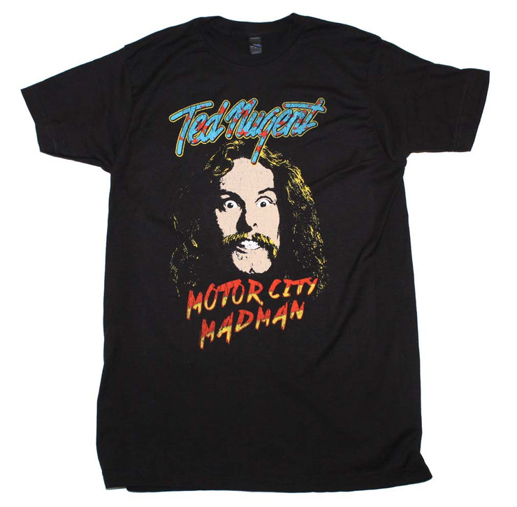 Ted Nugent Motor City Madman T-Shirt | Rockteez Apparel