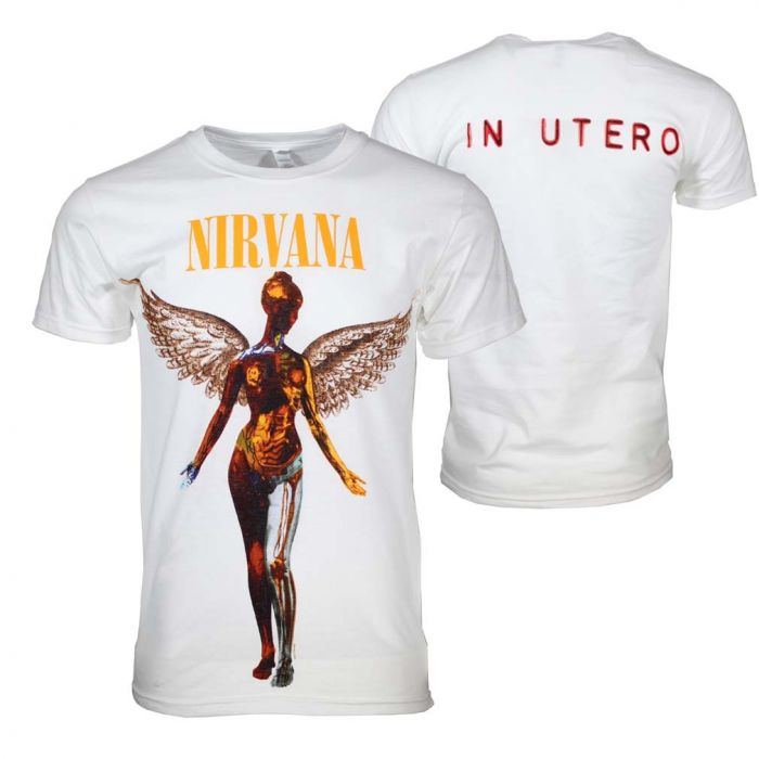 Nirvana In Utero White T-Shirt