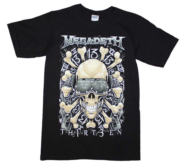 Megadeth Red Bones Regular T-Shirt - Rockteez Apparel