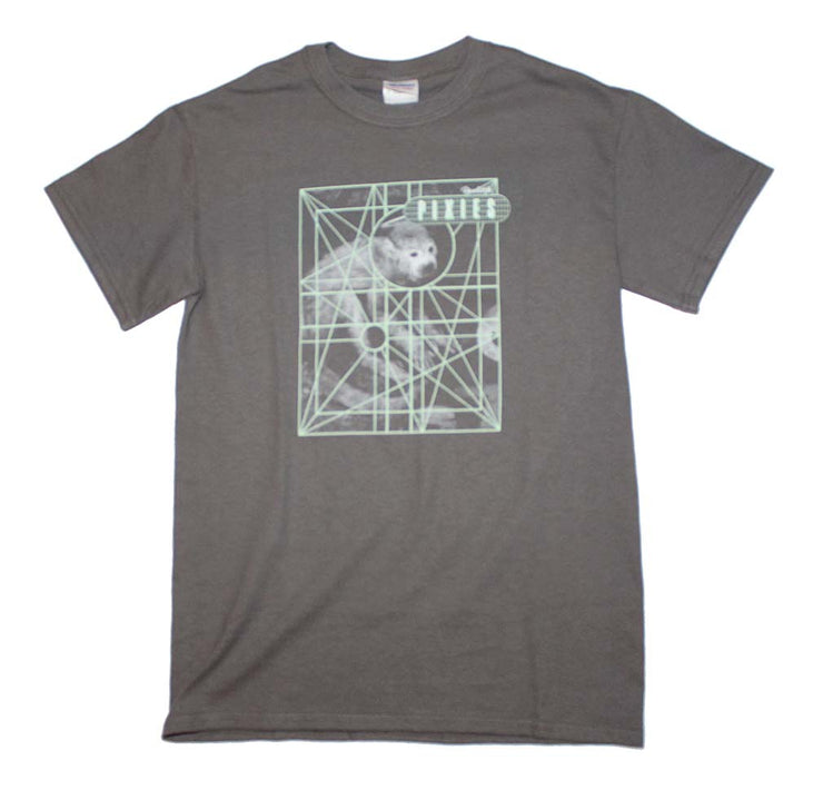 Pixies Monkey Grid T-Shirt | Rockteez Apparel