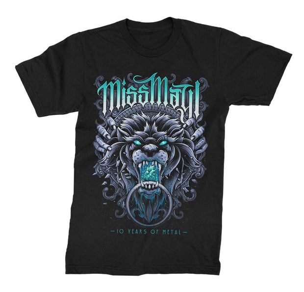 Miss May I 10 Years of Metal T-Shirt