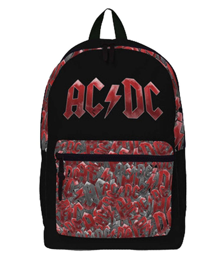 AC/DC Pocket All-Over Print Classic Backpack