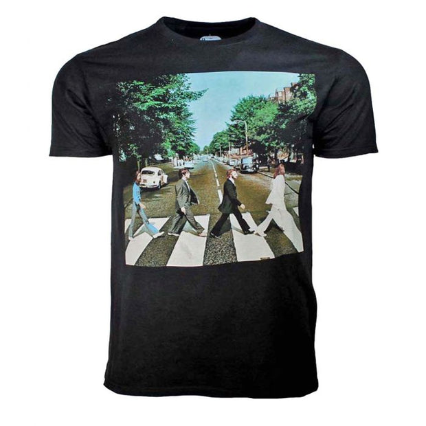 Beatles Abbey Road Black T-Shirt