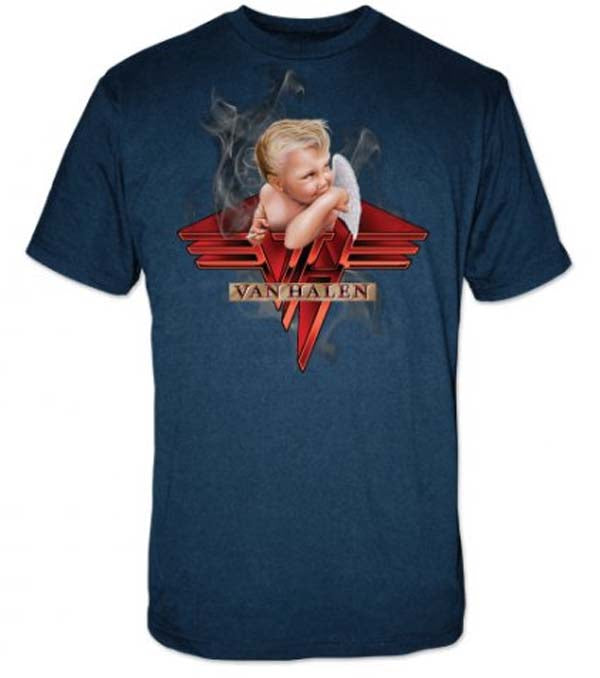Van Halen Smoking T-Shirt | Rockteez Apparel