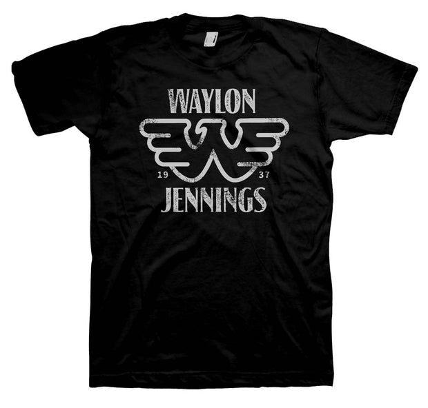 Waylon Jennings Established T-Shirt | Rockteez Apparel