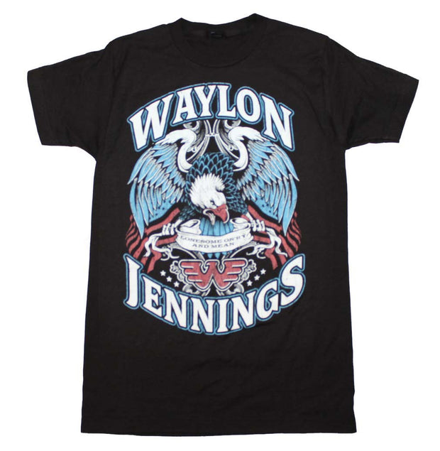 Waylon Jennings Lonesome T-Shirt | Rockteez Apparel