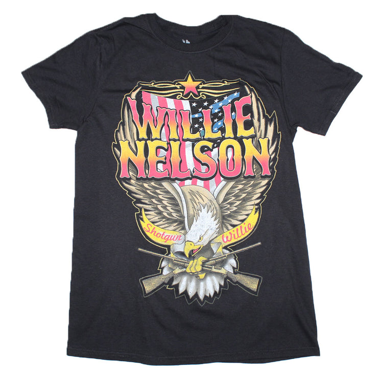 Willie Nelson Shotgun Willie T-Shirt | Rockteez Apparel