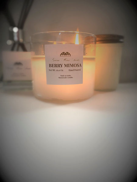 3 Wick Berry Mimosa - Greene House Scents