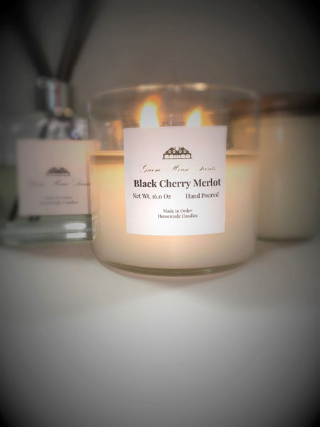 3 Wick Black Cherry Merlot - Greene House Scents