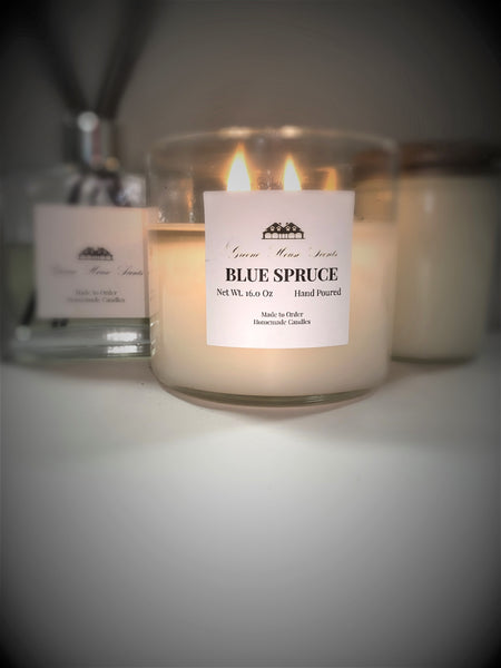 3 Wick Blue Spruce - Greene House Scents