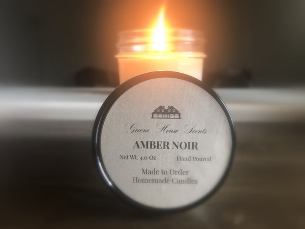Amber Noir - Greene House Scents