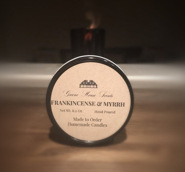 Frankincense & Myrrh - Greene House Scents