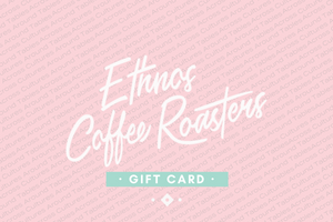 Ethnos coffee roasters gift card