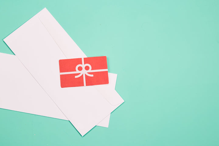 gift cart envelope