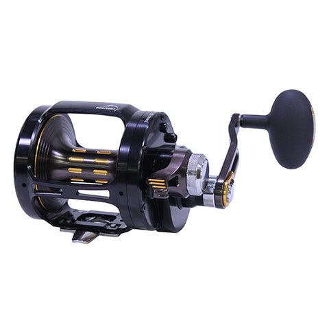Saltiga Dog Fight Lever Drag Conventional Reel, 6.1:1 Gear Ratio, 7 Bearings, RH