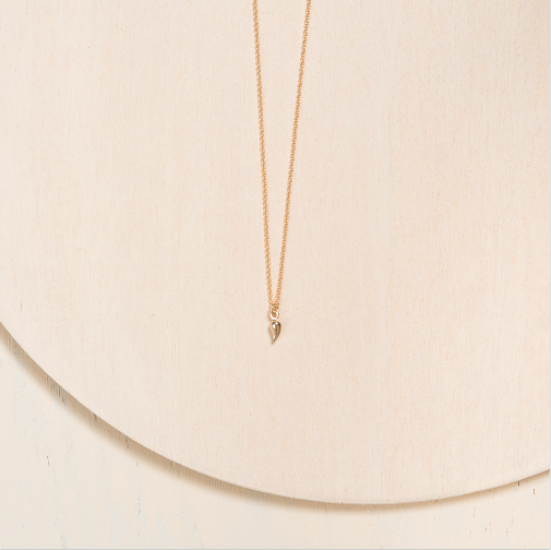 Collier en Or 10k et 14k par Camillette