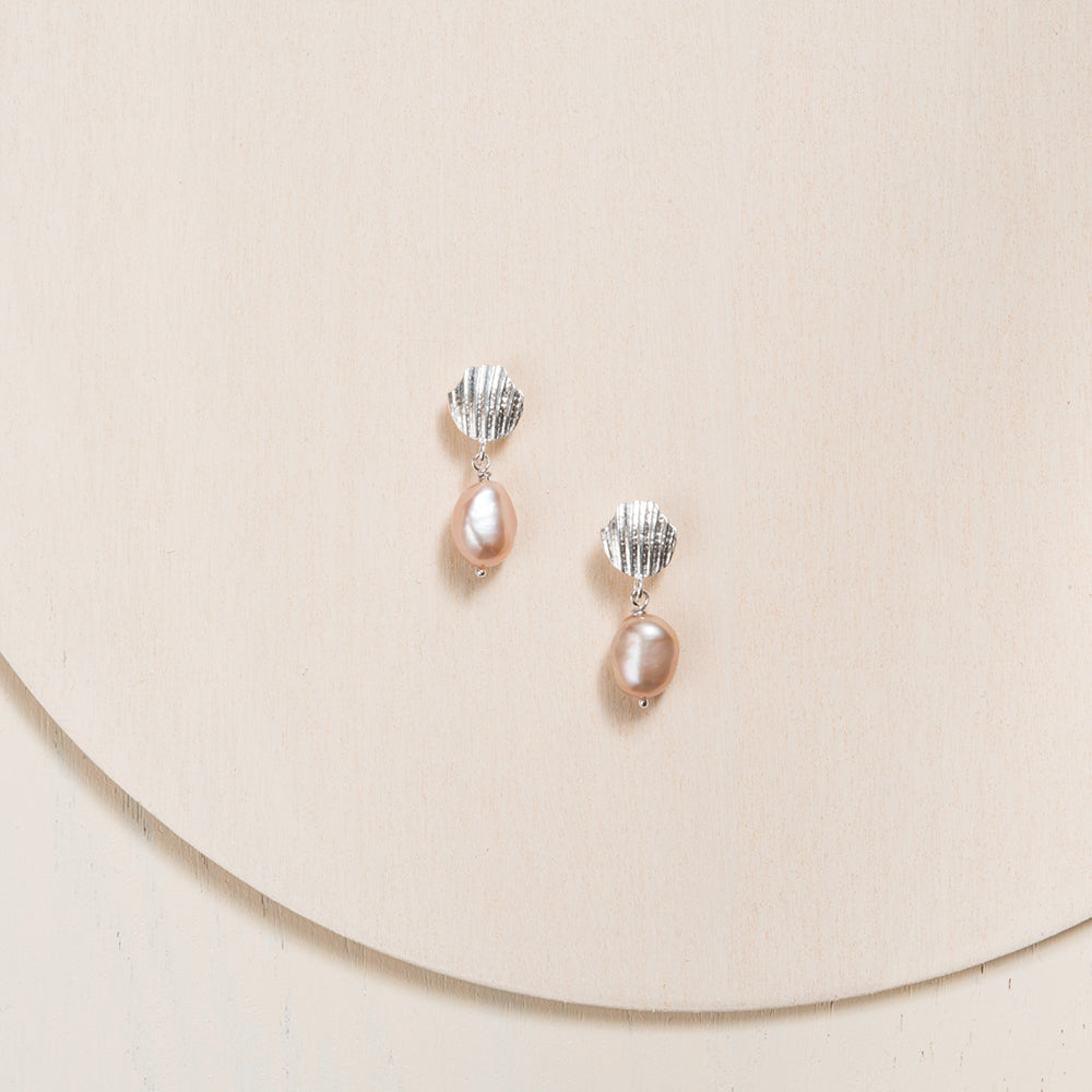 Refined High Jewelry Pearl Earrings Handmade in Canada