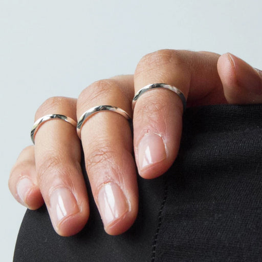 Thin Ring – Brass or Silver