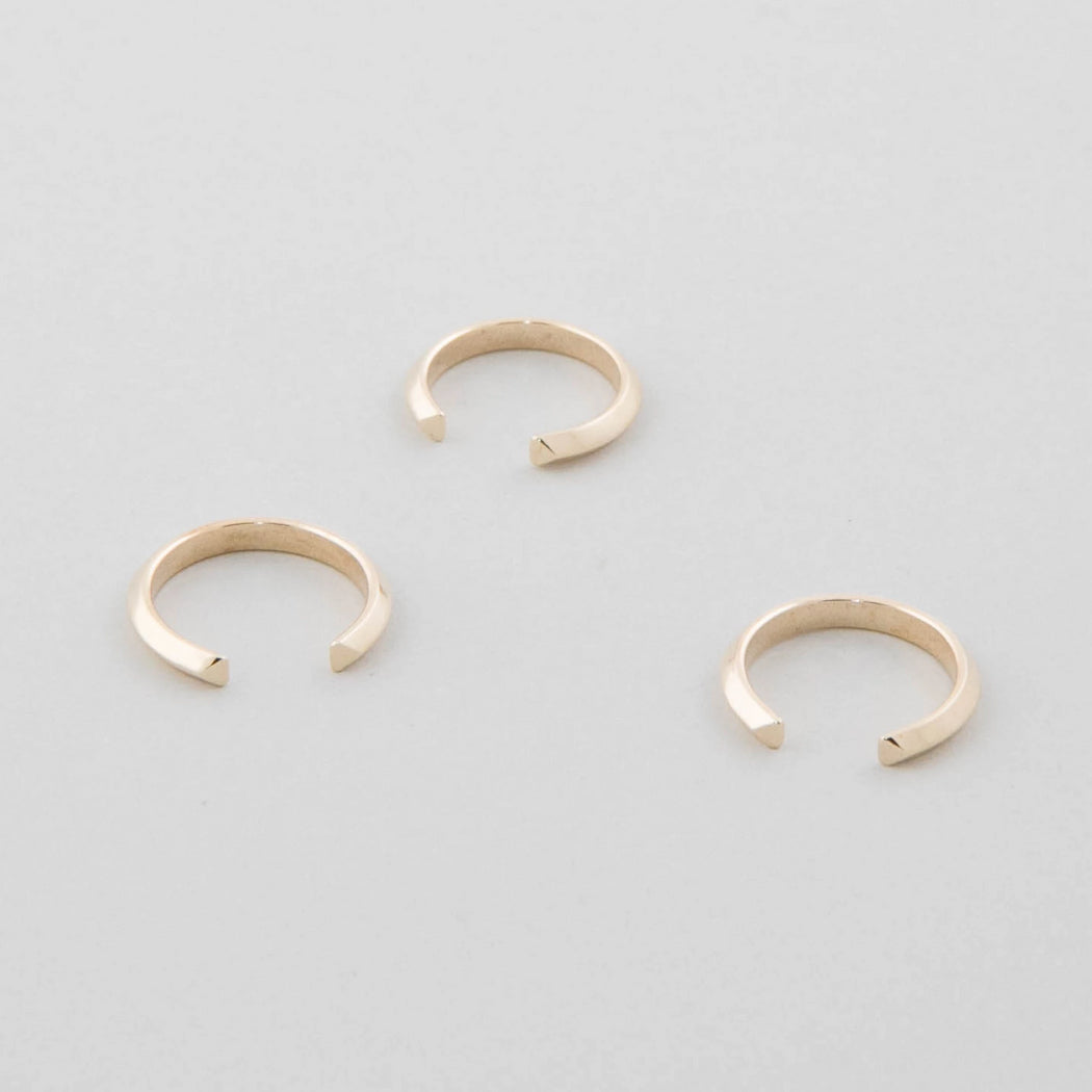 Open Ring – Brass or Silver