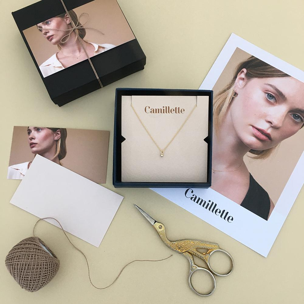 Camillette Jewelry Gift Box. Handmade in Montreal.