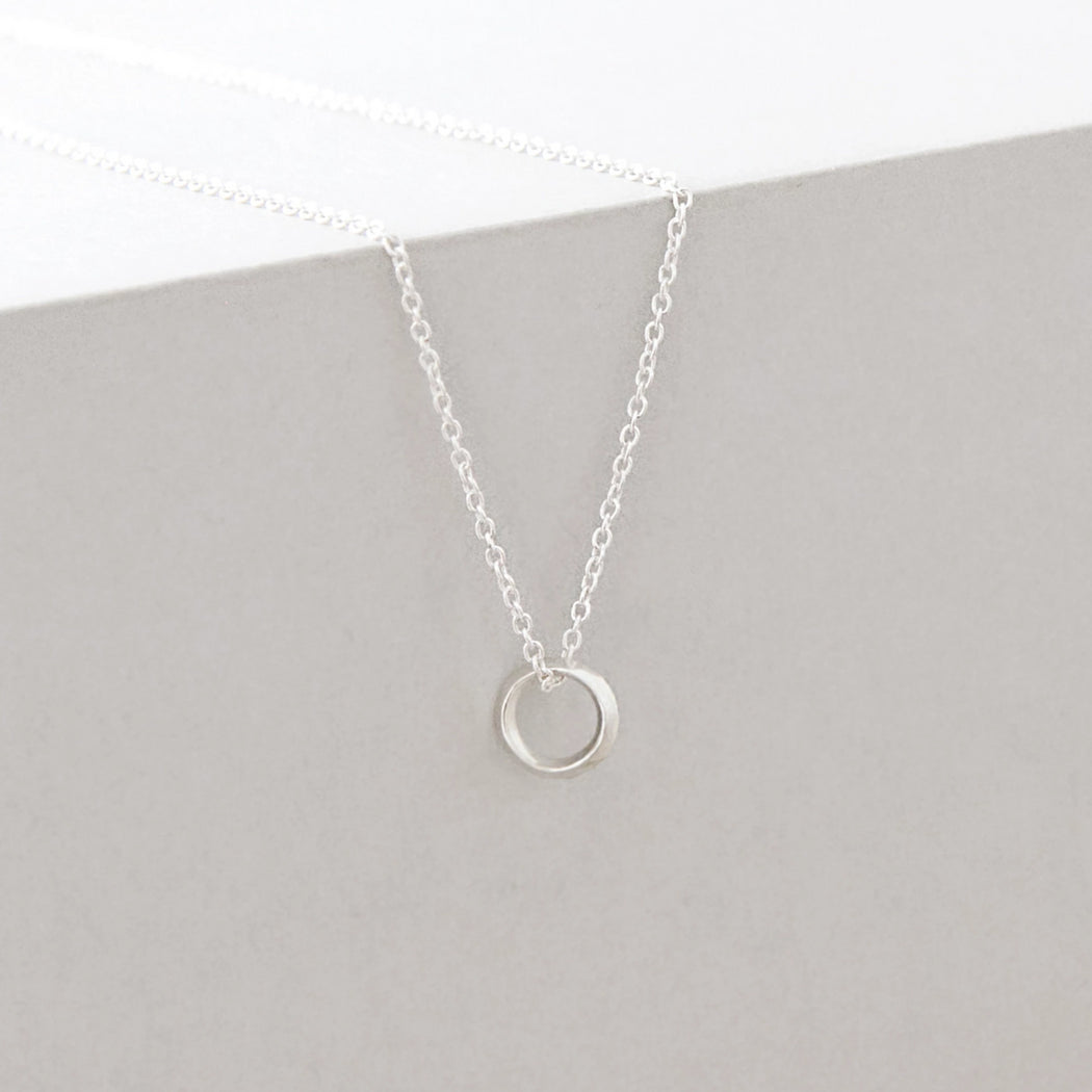 Halo Necklace – Brass or Silver