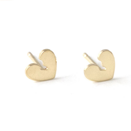 Broken heart gold 14k