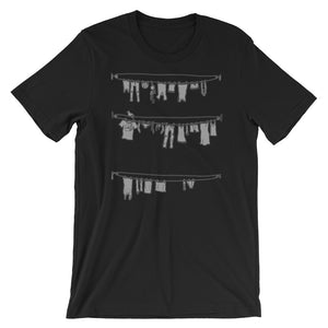 Clothes Line - Short-Sleeve Unisex T-Shirt
