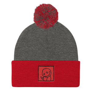Little Dude - Pom Pom Knit Cap