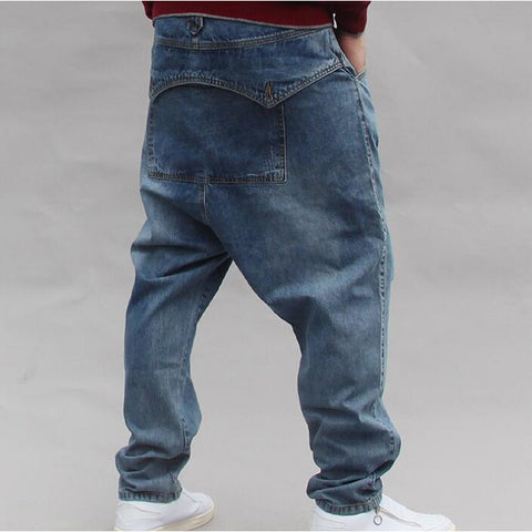 Jean large homme baggy