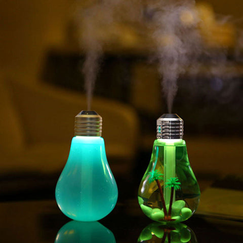 Humidificateur d'air à ampoule USB LED