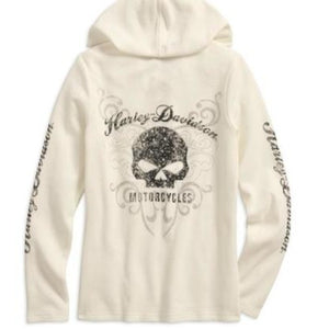 Chandail Scroll Skull 99131-17VW