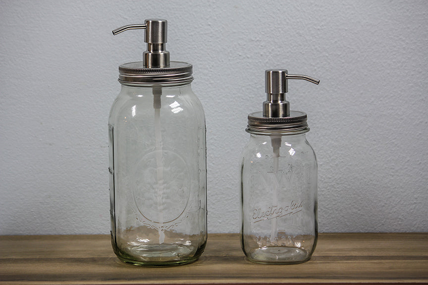 Mason Jar Pump Dispensers
