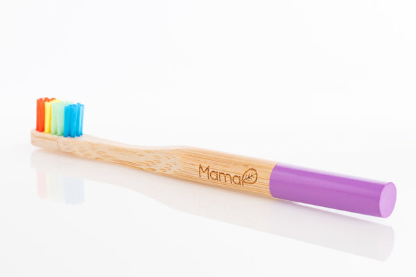 Rainbow  Equality - Kid's Bamboo Toothbrush (various options)