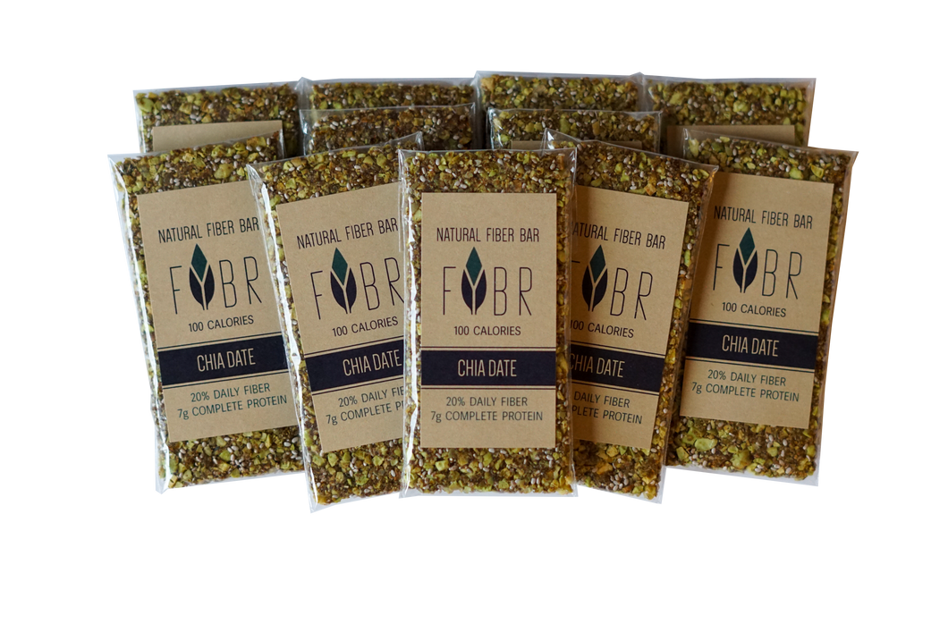 Chia Date FYBR bars (10-pack)