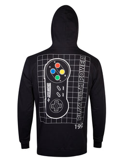Official Nintendo SNES Controller Men's Hoodie
