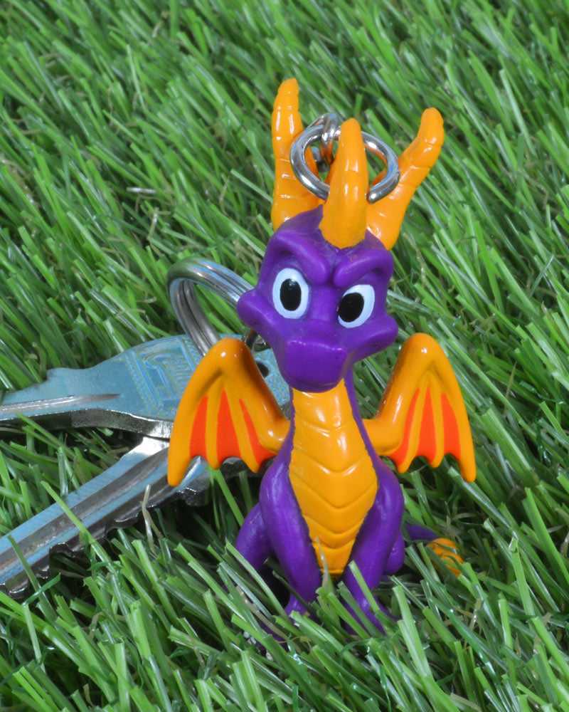 Official Spyro the Dragon 3D Keyring / Keychain