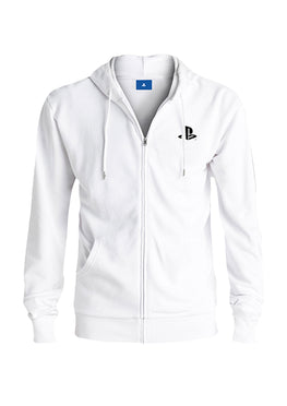 Official PlayStation Press X to Start White Hoodie