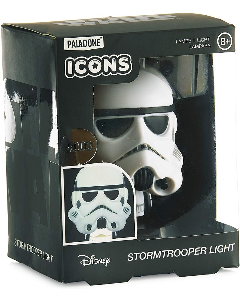Official Star Wars Stormtrooper Character Icon Light
