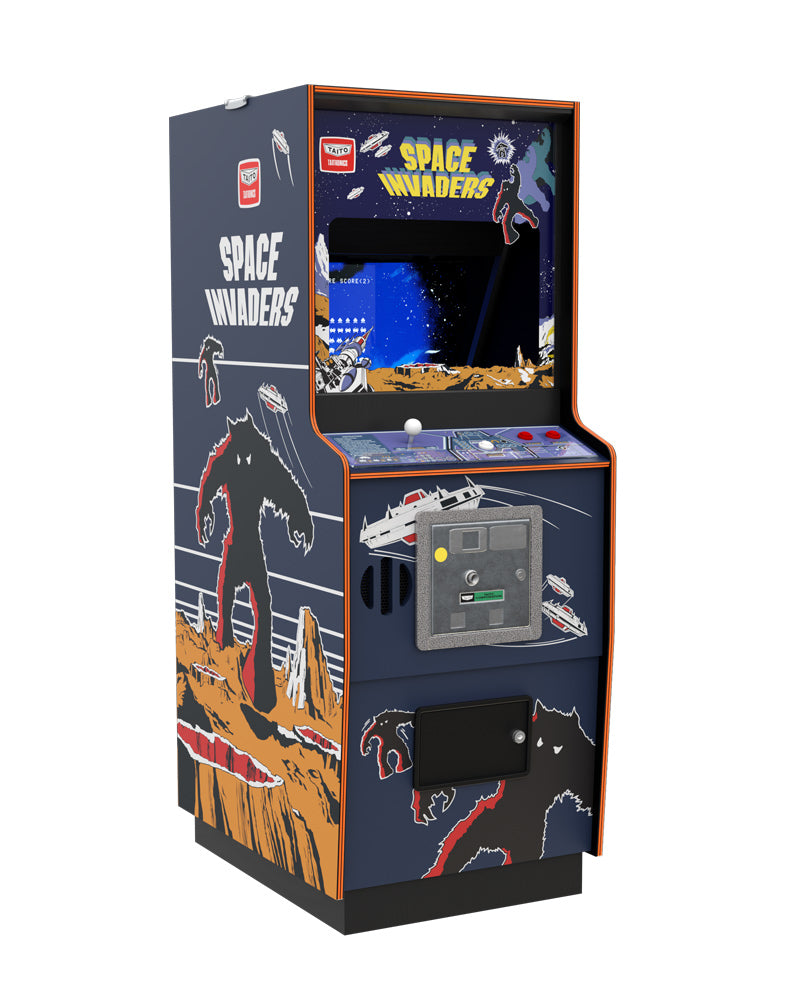 Deposit for Space Invaders Quarter Size Arcade Cabinet