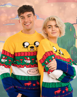 Official Adventure Time Finn & Jake Ugly Christmas Sweater